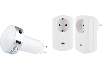 SCHWAIGER HAS144 HOME4YOU® Strom Starter Kit