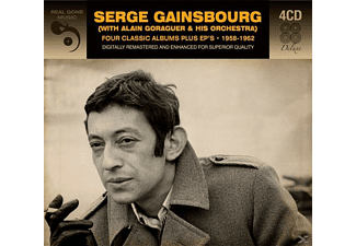 Serge Gainsbourg - 4 Classic Albums Plus EPs 1958-1962 - (CD)