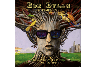 Bob & Friends Dylan - Decades Live... '61 To '94 - (Vinyl)
