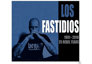 Los Fastidios - 1991-2016,25 Rebel Years - (CD)