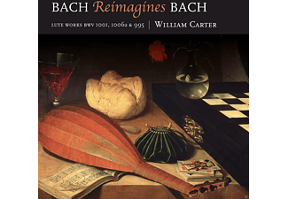 William Carter - Bach reimagines Bach - (CD)
