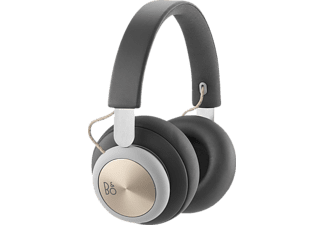 B&O PLAY H4, On-ear Kopfhörer, Bluetooth, Charcoal Grey