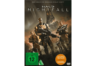 Halo-Nightfall (Exklusive Fan Edition + LED-Schlüsselanhänger) - (DVD)