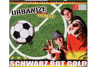 Urbanize feat.Honke - Schwarz Rot Gold [5 Zoll Single CD (2-Track)]