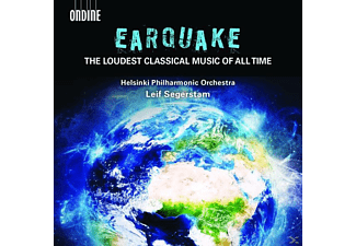 Leif Segerstam, Helsinki Philharmonic Orchestra, Finnish Philharmonic Choir - Earquake: The loudest classical Music of all Time - (CD)