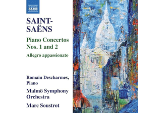 Descharmes,Romain/Soustrot,Marc/Malmö SO - Klavierkonzerte 1+2 - (CD)