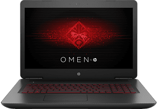 HP OMEN by HP 17-w104ng, Gaming-Notebook mit 17.3 Zoll Display, Core™ i7 Prozessor, 16 GB RAM, 1 TB HDD, 128 GB SSD, GeForce GTX 1070, Twinkle Black/Mesh-Muster