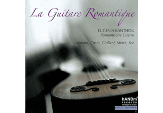 Eugenia Kanthou - La Guitare Romantiqe - (CD)