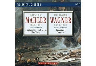 "Richard Wagner, VARIOUS - Mahler: Symphony No. 1 In D Major ""The Titan"" - Wagner: Tannhauser Overture - (CD)"
