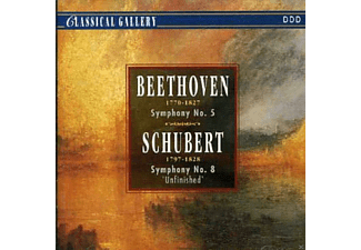 "VARIOUS - Beethoven: Symphony No. 5 In C Minor, Op. 67 - Schubert: Symphony No. 8 In B Minor ""Unfinished"" - (CD)"