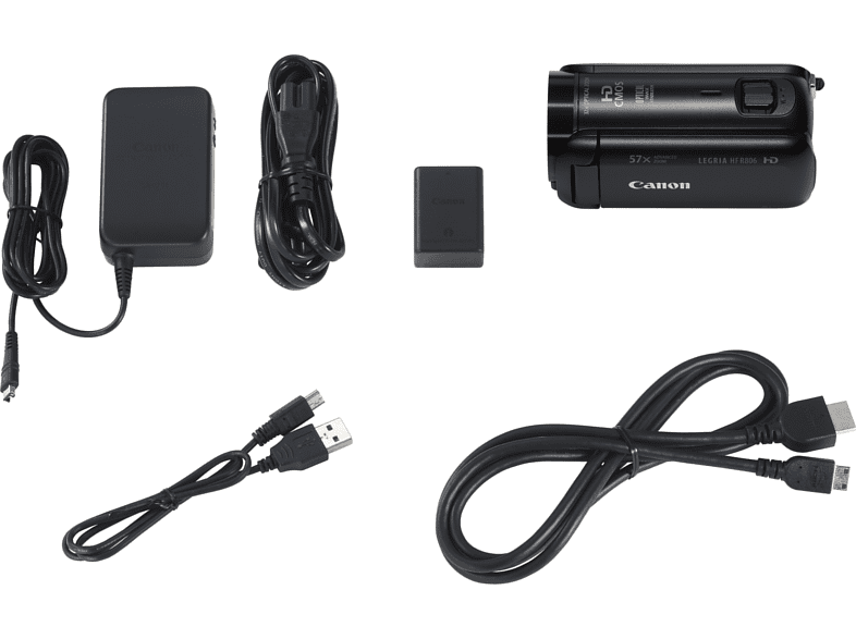 CANON Legria HF R806 fekete Essential Kit