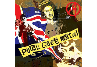 VARIOUS - Punk Goes Metal - (CD)
