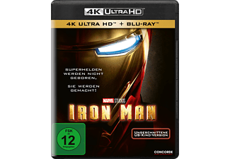 Iron Man - (4K Ultra HD Blu-ray + Blu-ray)