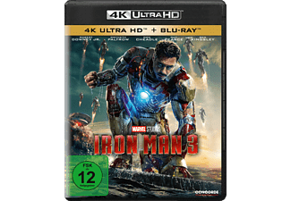 Iron Man 3 - 4K UHD Blu-ray - (4K Ultra HD Blu-ray + Blu-ray)