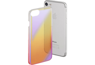 HAMA Mirror, Backcover, Apple, iPhone 6/6s/7, Polycarbonat, Gelb/Pink