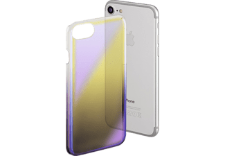 HAMA Mirror, Apple, Backcover, iPhone 6, iPhone 6s, iPhone 7, Polycarbonat (PC), Design/Motiv: Gradient Effect; Farbe: Gelb/Lila