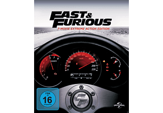 Fast & Furious 1-7 Movie Collection (Digibook) - (Blu-ray + DVD)