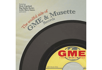 VARIOUS - The Soulful Side Of GME & Musette Records - (CD)