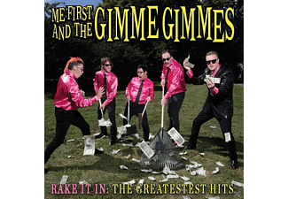 Me First And The Gimme Gimmes - Rake It In:The Greatestest Hits - (CD)