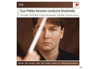 Esa-Pekka Salonen - Esa-Pekka Salonen Conducts Stravinsky - (CD)