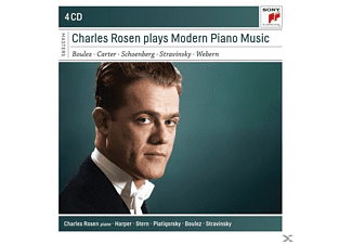 Charles Rosen - Charles Rosen Plays Modern Piano Music - (CD)