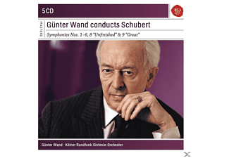 Günter Wand - Günter Wand Conducts Schubert: Sinf.1-6,8,9 - (CD)