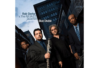 Rob & The Nyjazz Q Derke - Blue Divide With Aruan Ortiz & Carlo De Rosa - (CD)