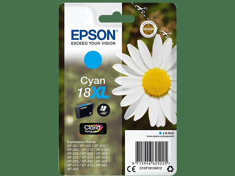 EPSON Singlepack Cyan 18XL Claria Home Ink - (C13T18124012) laptop  tablet  computing  εκτύπωση   μελάνια μελάνια  toner