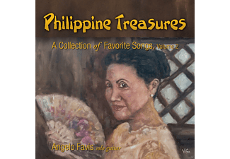 Angelo Favis - Philippine Treasures Vol.2 - (CD)