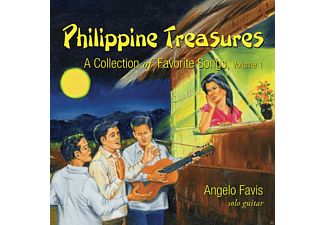 Angelo Favis - Philippine Treasures Vol.1 - (CD)