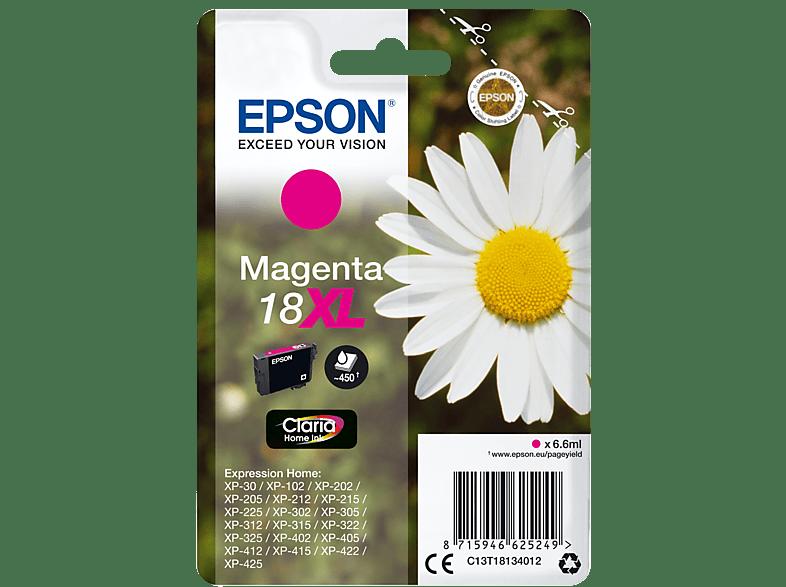 EPSON Singlepack Magenta 18XL Claria Home Ink - (C13T18134012) laptop  tablet  computing  εκτύπωση   μελάνια μελάνια  toner
