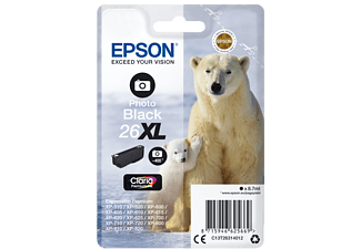 EPSON Singlepack Photo Black 26XL Claria Premium Ink - (C13T26314012)