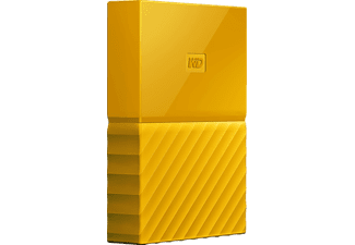 WD My Passport™, 2 TB, Gelb