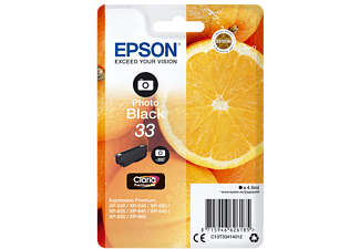 EPSON Original Tintenpatrone Orange Photo Schwarz (C13T33414012)