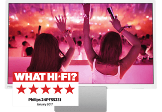 "PHILIPS 24PFS5231/12 24"" Full HD TV - Vit"