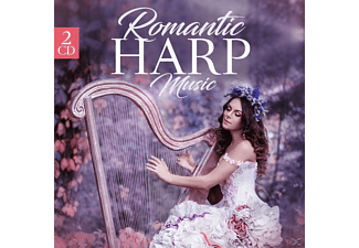 VARIOUS - Romantic Harp Music - (CD)
