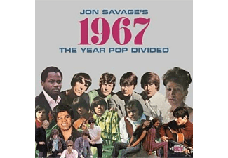 VARIOUS - Jon Savage's 1967-The Year Pop Divided - (CD)