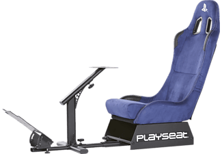 PLAYSEAT Racingstol Evoltuion Playstation Edition - Blå Alcantara