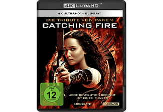 Die Tribute von Panem - Catching Fire - (4K Ultra HD Blu-ray + Blu-ray)