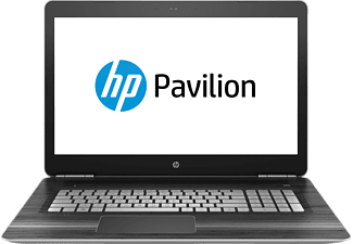 HP Pavilion 17-ab232ng, Notebook mit 17.3 Zoll Display, Core™ i5 Prozessor, 8 GB RAM, 1 TB HDD, 128 GB SSD, GeForce GTX 1050, Natural Silver