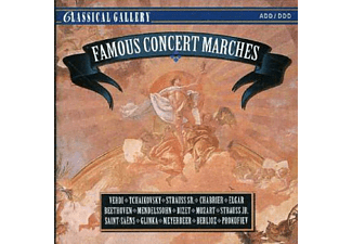 VARIOUS - Famous Concert Marches - (CD)