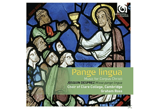 Michael Papadopoulos, Choir Of Clare College Cambridge - Pangue Lingua - (CD)