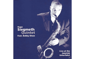 Hugo Quintet Siegmeth - Live At The Jazzclub - (CD)
