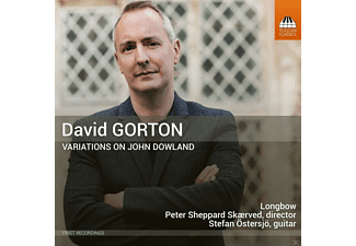 Stefan Östersjö, Longbow - Variations on John Dowland - (CD)