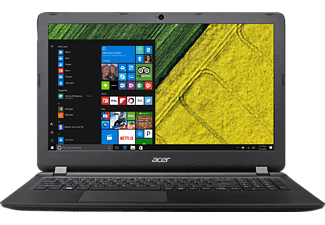 ACER Aspire ES 15 (ES1-572-31P0), Notebook mit 15.6 Zoll Display, Core™ i3 Prozessor, 8 GB RAM, 1 TB HDD, HD Graphics 520, Schwarz