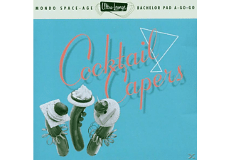 VARIOUS - Ultra Lounge 8/Cocktail Caper - (CD)