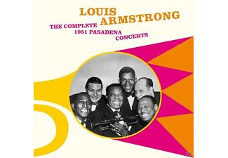 Louis Armstrong - The Complete 1951 Pasadena Concerts+5 Bonus - (CD)