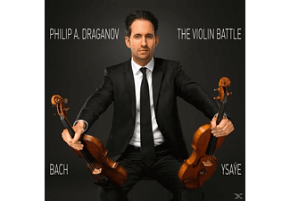Philip A. Draganov - THE VIOLIN BATTLE - (CD)