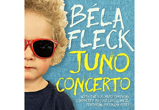 Bela & Colorado Symphony Orchestra Fleck - The Juno Concerto - (CD)