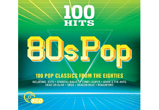 VARIOUS - 100 Hits-80s Pop - (CD)